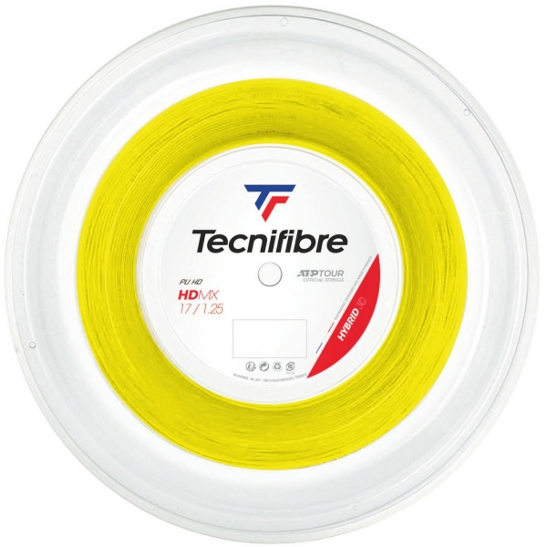 Tecnifibre HDMX Yellow 17g Tennis String (Reel)