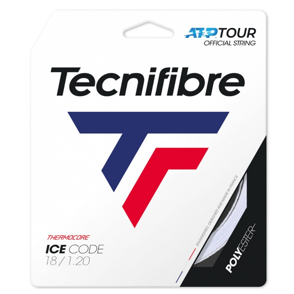 Tecnifibre Ice Code 18g Tennis String (Set)