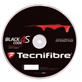Tecnifibre Black Code 4S 17g Tennis String (Reel)