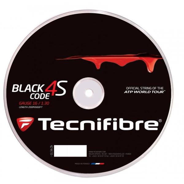 Tecnifibre Black Code 4S 16g Tennis String (Reel)