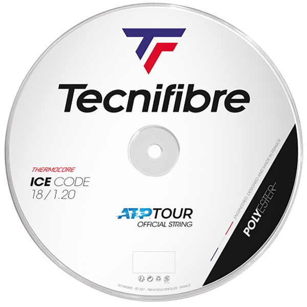 Tecnifibre ATP Ice Code 18g Tennis String (Reel)