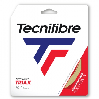 Tecnifibre Triax Natural 16g Tennis String (Set)
