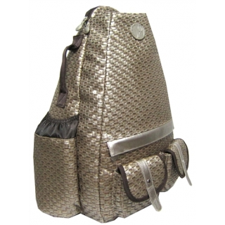 Jet Copper Weave Elite Convertible Tennis Bag
