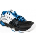 Prince Men's T22 Tennis Shoes (White/ Black/ Blue) - Prince T-22 Series Tennis Shoes