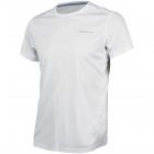Babolat Boy's Core Flag Club Tee (White/White) - Boy's Tennis Apparel