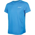 Babolat Boy's Core Flag Club Tennis Tee (Diva Blue) - Boy's Tennis Apparel