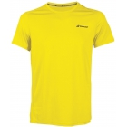Babolat Boy's Core Flag Club Tennis Tee (Blazing Yellow) - Boy's Tennis Apparel