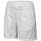 Babolat Boy's Core Tennis Short (White/White) - Boy's Tennis Apparel