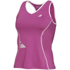 Babolat Girls' Crop Core Tank (Plum) - Babolat Tennis Apparel