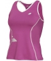 Babolat Girls' Crop Core Tank (Plum) - Girl's Bottoms Tennis Apparel