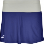 Babolat Girl's Core Tennis Skirt (Estate Blue) - Girl's Bottoms