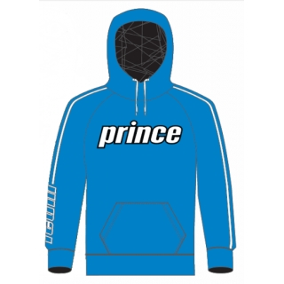 Prince Men's Pullover Hoodie (Blue/White)