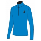 Prince Men's Half Zip Pullover (Blue/Black) - Men's Outerwear Jackets Tennis Apparel