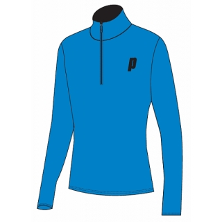 Prince Men's Half Zip Pullover (Blue/Black)