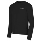 Babolat Men's Core Long Sleeves Tee (Black) - Babolat Men's Apparel