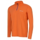 Babolat Men's Core Half Zip Long Sleeves (Orange) - Men's Tops Tennis Apparel