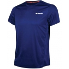Babolat Men's Core Flag Club Tennis Tee (Estate Blue) - Babolat Tennis Apparel