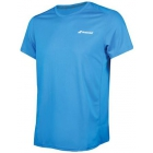 Babolat Men's Core Flag Club Tennis Tee (Diva Blue) - Babolat Tennis Apparel