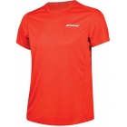 Babolat Men's Core Flag Club Tennis Tee (Fiery Red) - Babolat Tennis Apparel