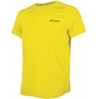 Babolat Men's Core Flag Club Tennis Tee (Blazing Yellow) - Babolat Tennis Apparel