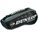 Dunlop Performance 3 Racquet Tennis Bag (Black/Blue) - 9 and 12+ Racquet Tennis Bags