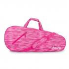 Ame & Lulu 3 Racquet Tennis Bag (Pink Grunge) -