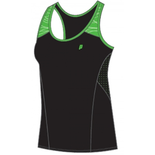 Prince Women's Racerback (Black/Green)