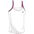 Prince Women's Spaghetti Strap (White/Berry) - Women's Tops Sleeveless Shirts Tennis Apparel