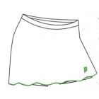 Prince Women's Skort (White/Green) - Women's Skorts Tennis Apparel