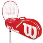 Wilson Serena Pro Lite Tennis Racquet Bundled with an Advantage II Tennis Bag -