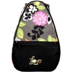 40 Love Courture Gray Floral Betsy  Backpack - Tennis Backpacks