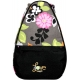 40 Love Courture Gray Floral  Backpack - 40 Love Courture Elizabeth Tennis Bags