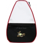 40 Love Courture White Elizabeth Backpack - 40 Love Courture Elizabeth Tennis Bags