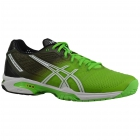 Asics Men's GEL-Solution Speed 2 Tennis Shoes (Flash Green/White/Black) - Asics Gel-Solution Speed Tennis Shoes