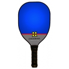 Paddletek Power Play Pro Paddle (Blue) - Tennis Court Equipment