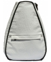 40 Love Courture White Croc Betsy Tennis Backpack - Designer Tennis Backpacks