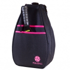 40 Love Courture Pickleball Backpack (Black/Pink) - Pickleball Paddles, Balls, Bags and Court Equipment