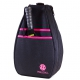 40 Love Courture Pickleball Backpack (Black/Pink) - Sports Equipment
