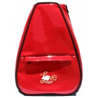 40 Love Courture Red Faux Elizabeth Tennis Backpack - Designer Tennis Bags