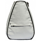 40 Love Courture White Croc Elizabeth Tennis Backpack - Designer Tennis Bags
