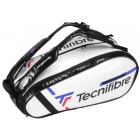 Tecnifibre Tour Endurance Pro 12R Tennis Bag (White) - Tecnifibre Endurance Tennis Bags and Backpacks