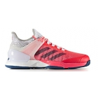 Adidas Men's Adizero Ubersonic 2 Tennis Shoe (Red/Gray/White) - Adidas adiZero