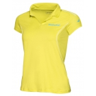 Babolat Girls' Match Core Polo (Lime) - Babolat Tennis Apparel