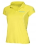 Babolat Girls' Match Core Polo (Lime) - Girl's Bottoms Tennis Apparel