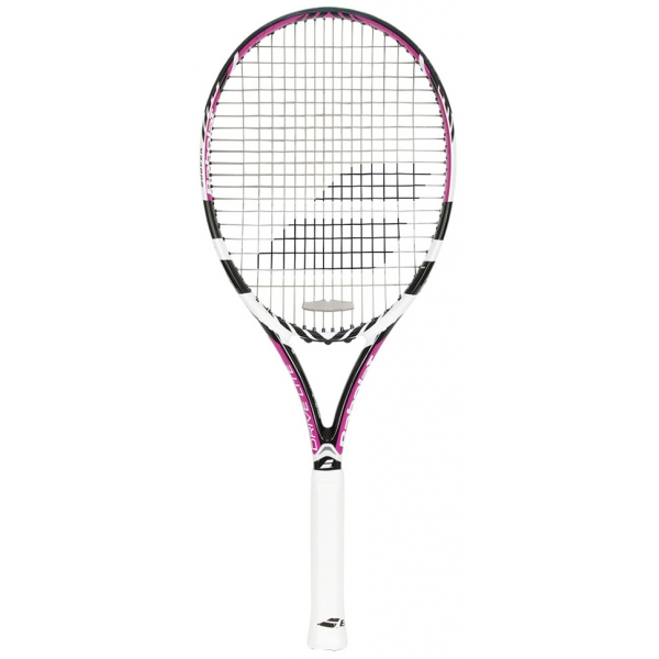 babolat drive lite tennis racquet white purple from do it tennis. Black Bedroom Furniture Sets. Home Design Ideas