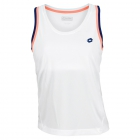 Lotto Women's Shela Tank (White/ Navy) - Lotto Tennis Apparel