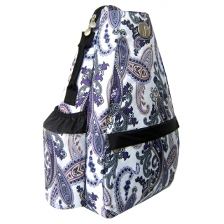 Jet Purple Paisley Small Sling