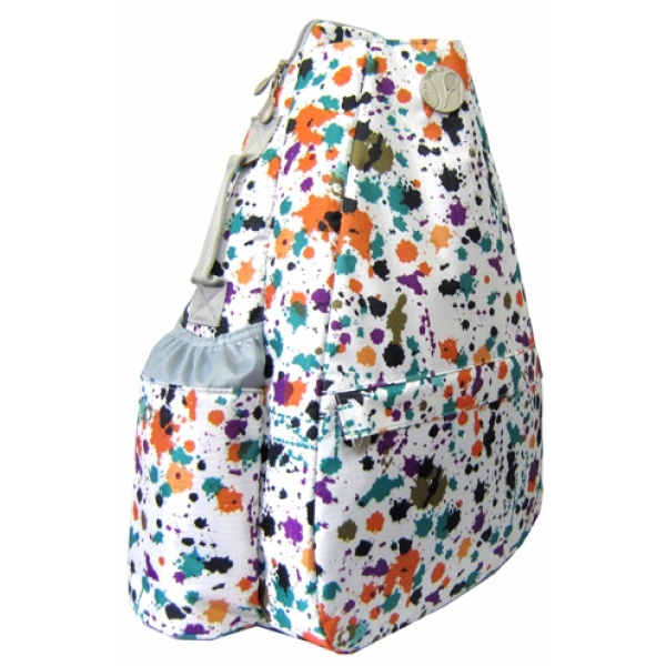 Jet Paint Ball Small Sling Convertible Tennis Bag