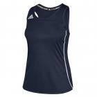 Adidas Women's Utility Tennis Tank Top (Navy/White) -