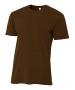 A4 Men's Performance Tri Blend Tee (Brown) - A4